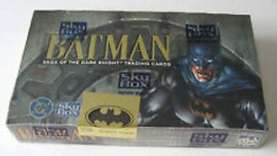 Batman Saga of the Dark Knight Trading Cards Sealed Box of 36 Packs BY SKYBOX
