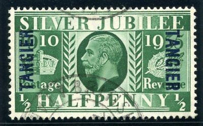 Morocco Agencies 1935 KGV Silver Jubilee ½d green very fine used. SG 238. Sc 508