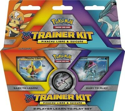 Pikachu Libre & Suicune - - Pokemon TCG XY Trainer Kit