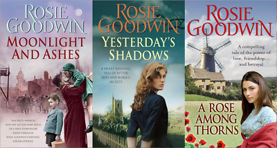 Rosie Goodwin ___ 3 Book Set ___ Brand New ___ Freepost Uk