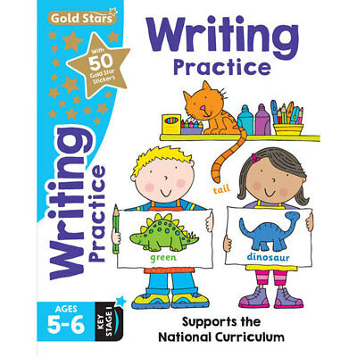 Gold Stars Handwriting Practice - Ages 5-6 Key Stage 1, Children's Books, New