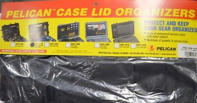Pelican Case Lid Organizer #1609 - Fits 1600,1610,1620 Cases - Photo Lid
