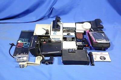 LOT of Assorted Polaroid Accessories #L4153BP AS-IS