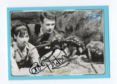 DR WHO  STRICTLY INK CARD NUMBER 9 SIGNED by CAROLE ANN FORD