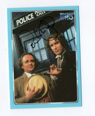 DR WHO  STRICTLY INK CARD NUMBER 67 SIGNED by PAUL MCGANN
