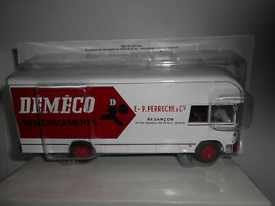 Berliet Gb 75 Demenagement 1965 Demeco Collect Berliet Hachette Ixo 1:43