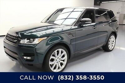 Land Rover Range Rover Sport AWD Supercharged 4dr SUV Texas Direct Auto 2016 AWD Supercharged 4dr SUV Used 5L V8 32V Automatic AWD SUV
