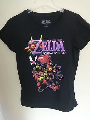 EUC - Legend Of Zelda - Majora's Mask 3D - Graphic Printed T-Shirt Ladies XL
