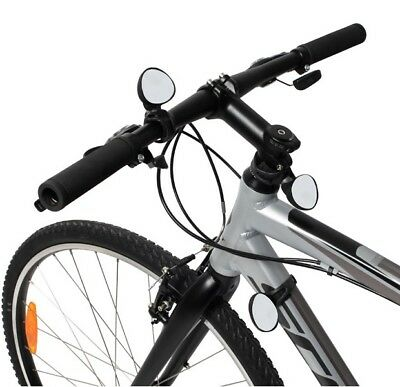 Round Rearview Handlebar Bicycle Mirror Bike Cycling End Rear Back View