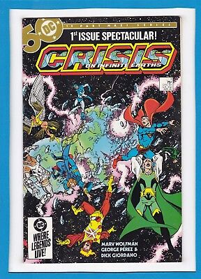 CRISIS ON INFINITE EARTHS #1_APRIL 1985_VF/NM_DC'S 1st ISSUE SPECTACULAR!
