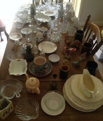 Large Job Lot of over 100 Table Top Car Boot Sale Mixed Items - Quick Collection