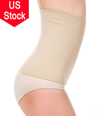 US Postpartum Belly Recovery Band After Baby Tummy Tuck Belt Body Slim Shaper CH