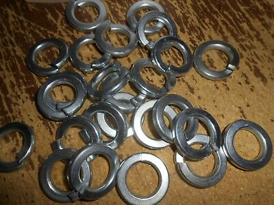 "3/4"" Zinc Split Lock Washers 575 Pieces Grade 8"