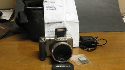 Olympus Digital Camera Model Sp-800 Uz With Instructions And Much More