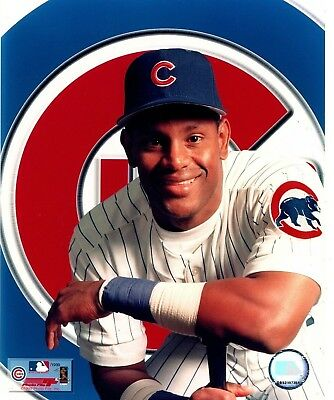 """Sammy Sosa """"Chicago Cubs"""" MLB Baseball Licensed Unsigned 8x10 Glossy Photo A1"""