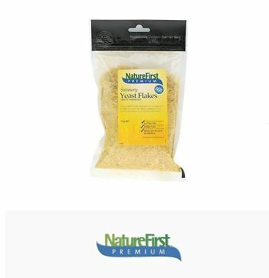 6 x 100g Nature First Nutritional Savoury Yeast Flakes * strong cheesy flavour