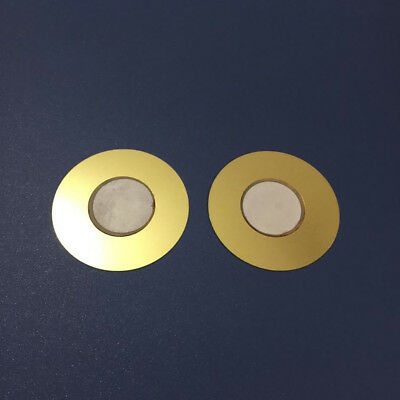 New 50mm Diameter Copper Piezoelectric Ceramic Buzzer Passive Discs Film Gasket