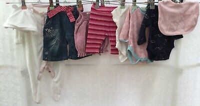 Baby Girls Bundle Of Clothing Age 0-3 Months Next Mothercare <H433