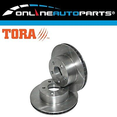2 Front Disc Brake Rotors Jeep Cherokee XJ 1988 to 2/1998 Limited Sport Classic