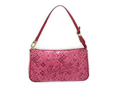 LOUIS VUITTON Pochette Cosmic accessory pouch M93166 Cosmic Blossom Rose Pink