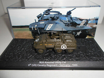 M20 ARMOURED UTILITY CAR 6TH CAV REG GERMANY 1945 # MILITARY DeAGOSTINI 1:72