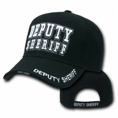 Deputy Sheriff Deluxe Law Enforcement Cap USA Police Mütze