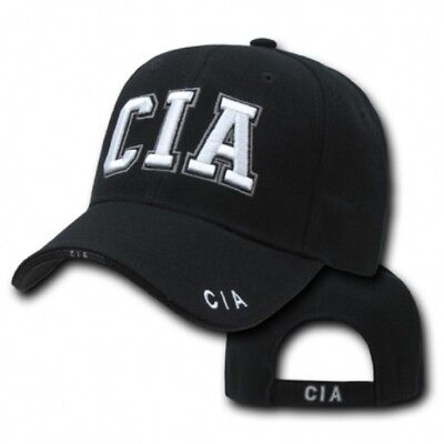 Central Intelligence Agency CIA Deluxe Law Enforcement Cap USA Police Mütze