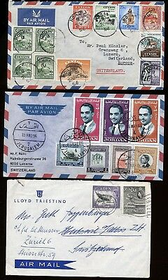 British Commonwealth Lots Of 6 Early Interesting Covers.     A665