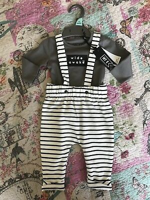 Baby Boys Brand New Mothercare Outfit Myleene Klass 1/3 Months £15