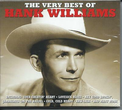 Hank Williams - The Very Best Of - Greatest Hits 2CD NEW/SEALED