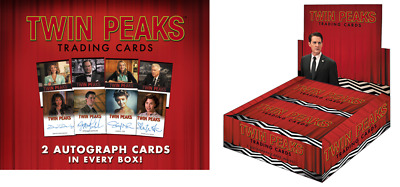 2018 Twin Peaks Trading Cards Factory Sealed Box w/ Promo P1 and 2 Autographs