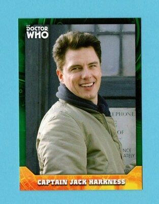 Doctor Who Signature Series Base Card 22 Captain Jack Harkness