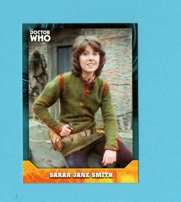 Doctor Who Signature Series Base Card 24 Sarah Jane Smith