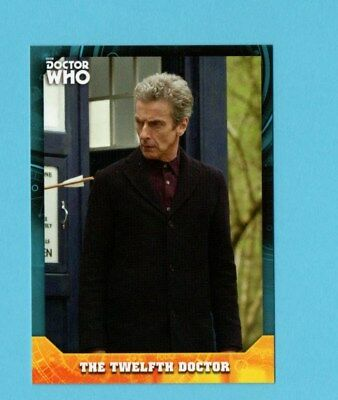 Doctor Who Signature Series Base Card 12 The Twelth Doctor