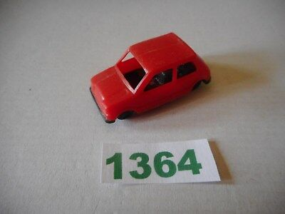 rare Kinder ancien: Voiture Mini 90 rouge An 70 Top