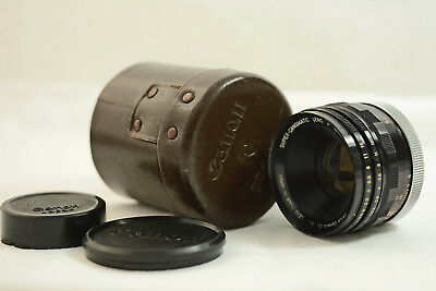 Vintage Canon Super-Canomatic 50Mm F1.8 R Camera Lens For Canonflex Rp R2000 Rm