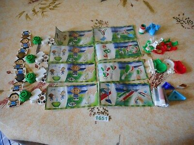 rare Kinder ancien: Serie complet Foot + 8 Bpz