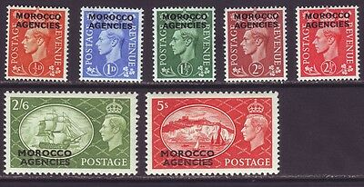 Morocco Agencies 1951 SC 263-269 MH Set