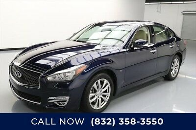 Infiniti Q70 3.7 Luxe Texas Direct Auto 2018 3.7 Luxe Used 3.7L V6 24V Automatic RWD Sedan Bose