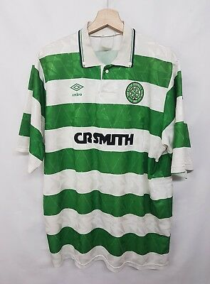 Maglia calcio celtic umbro vintage 90 shirt camiseta soccer celtic umbro