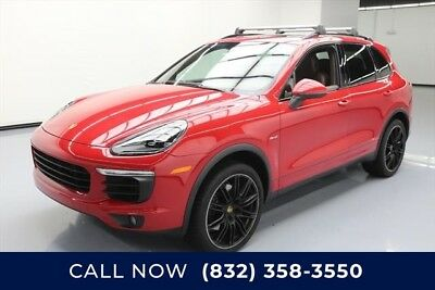Porsche Cayenne Diesel Texas Direct Auto 2015 Diesel Used Turbo 3L V6 24V Automatic AWD SUV Premium