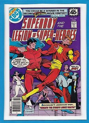 Superboy And The Legion Of Super-Heroes #248_Feb 1979_Nm Minus_Bronze Age Dc!