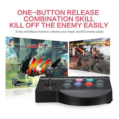 PXN 0082 ARCADE Joystick Wired Game Handle Controller Gamepad for PC PS4  Xbox