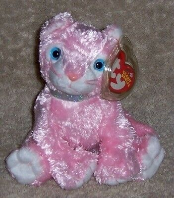CARNATION  Ty Beanie Baby MINT WITH MINT TAGS