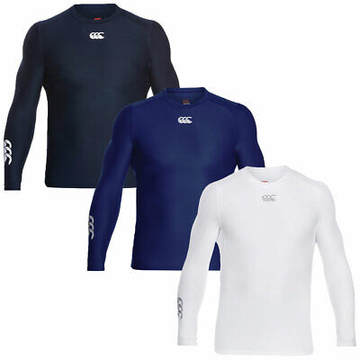Canterbury Mens ThermoReg Long Sleeve Top Base Layer Moisture-Wicking
