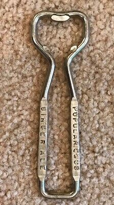 Vintage GINGER ALE Soda Bottle Opener Popular Club