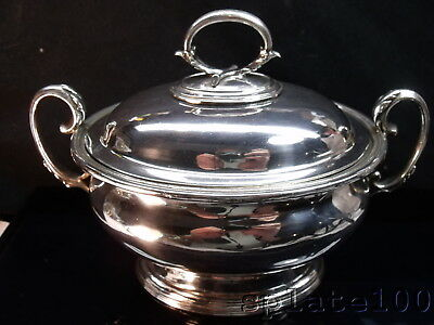 English Elkington Covered Silver Plate Sauce Tureen $9.99 No Reserve!