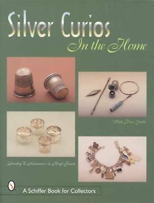 Antique Victorian Silver Novelties Collector Guide incl Cane Heads Chatelaines