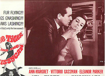 The Tiger And The Pussycat Ann Margret Vittorio Gassman Original Lobby Card #3