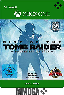 Rise of the Tomb Raider 20-jähriges Jubiläum - Xbox One Download Code Key - DE